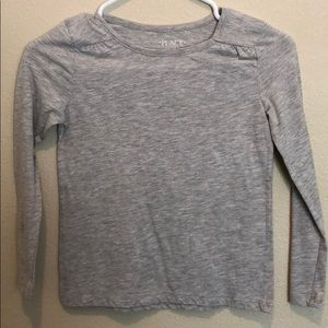 Grey long sleeve Childrens place shirt